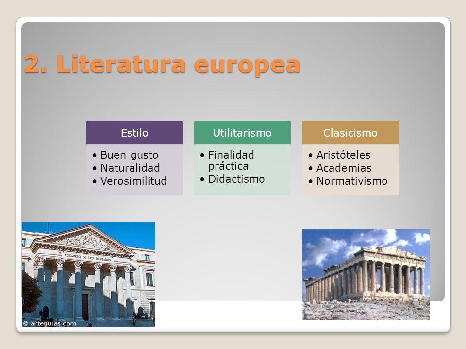 2. Literatura europea