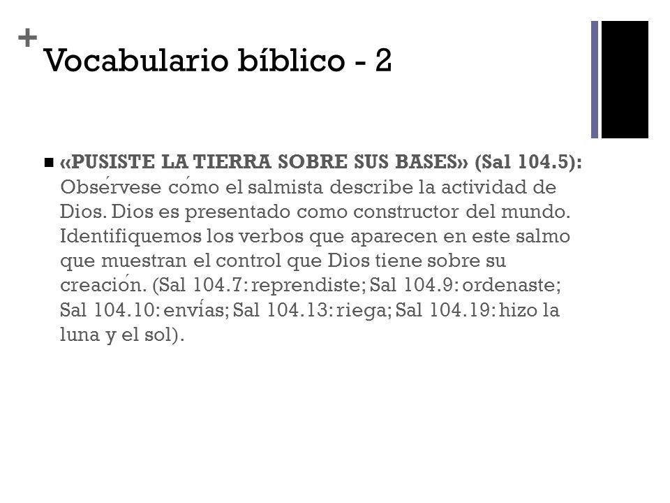 + Vocabulario bíblico - 3 «LEVIATAN» (104.26): Este nombre tiene en la Biblia varios sentidos.