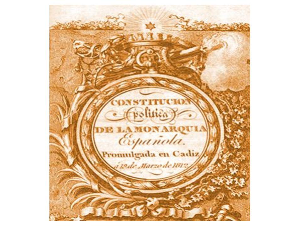 LA CONSTITUCIÓN DE CÁDIZ 1812: LA PEPA La Constitución española de 1812, conocida popularmente como La Pepa, fue promulgada por las Cortes Generales de España el 19 de marzo de 1812 en Cádiz.