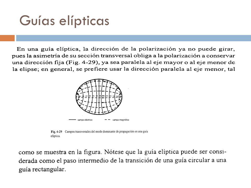 Guías elípticas