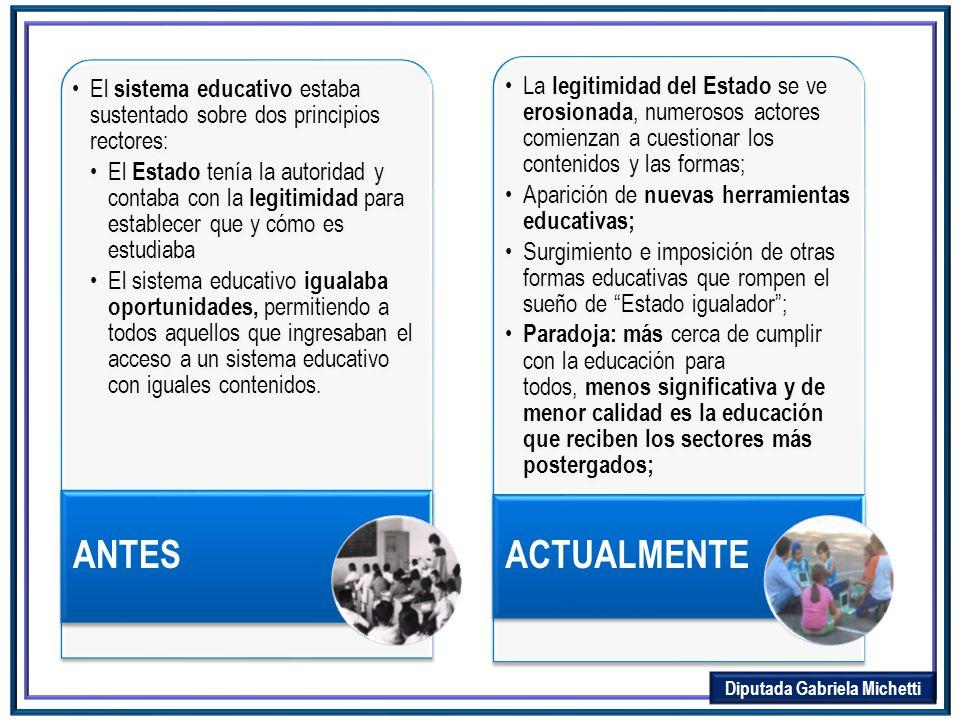 Hoy existe la necesidad de incorporar un RELATO COLECTIVO Una encuesta (*) revela que La sociedad argentina no confía en la educación secundaria.