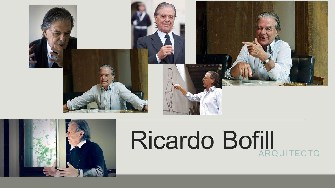 Nació.Murió. Ricardo Bofill nació en una familia de constructores en 1939 en Barcelona, España.