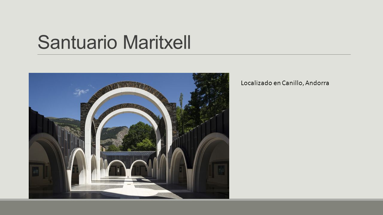 Santuario Maritxell Localizado en Canillo, Andorra