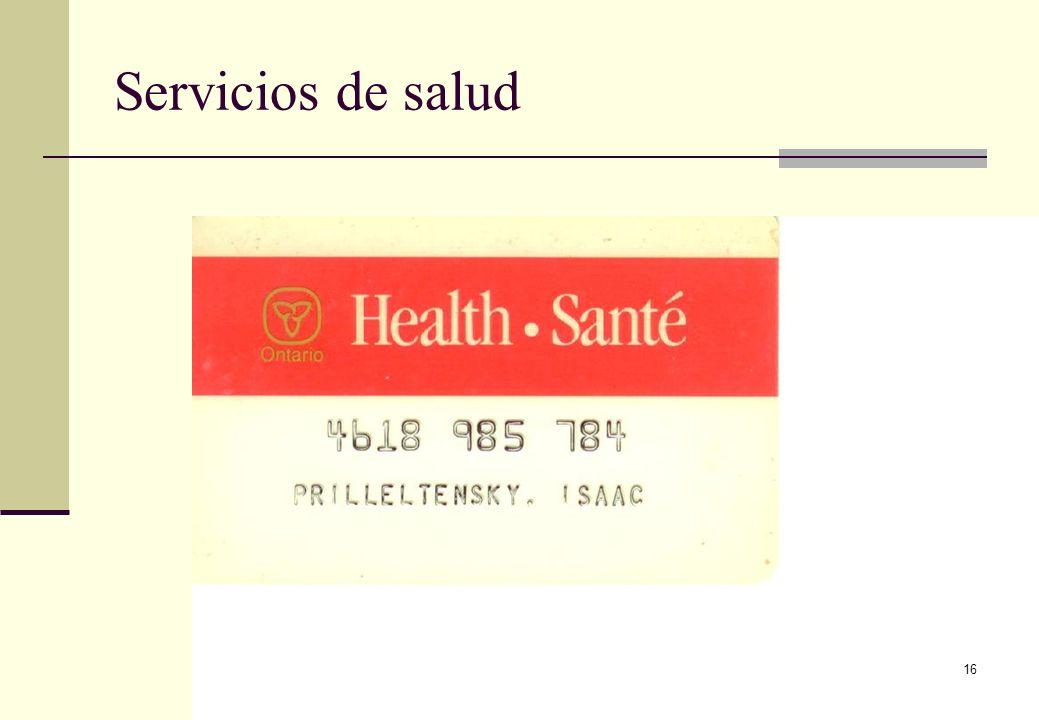 Servicios de salud 16