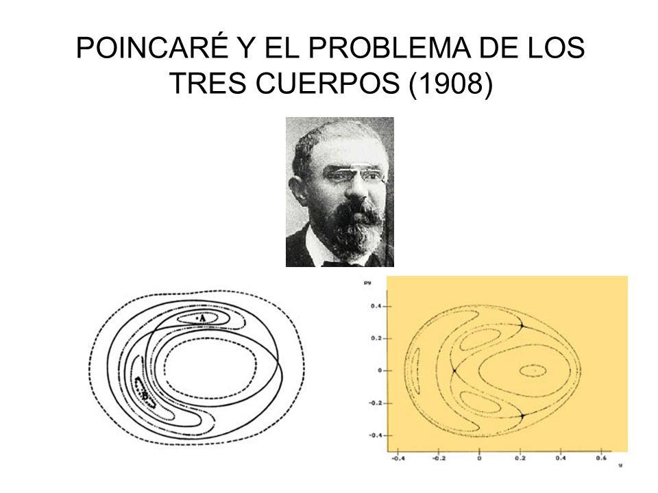 POINCARÉ Y EL PROBLEMA DE LOS TRES CUERPOS (1908)