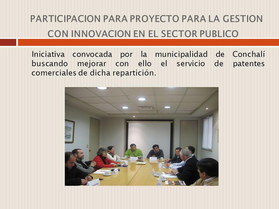 PARTICIPACION EN ORGANIZACIONES Y COMUNIDAD CIRPAN MIEMBRO COSOC DE COLINA: corresponde al consejo de organizaciones sociales de la I.