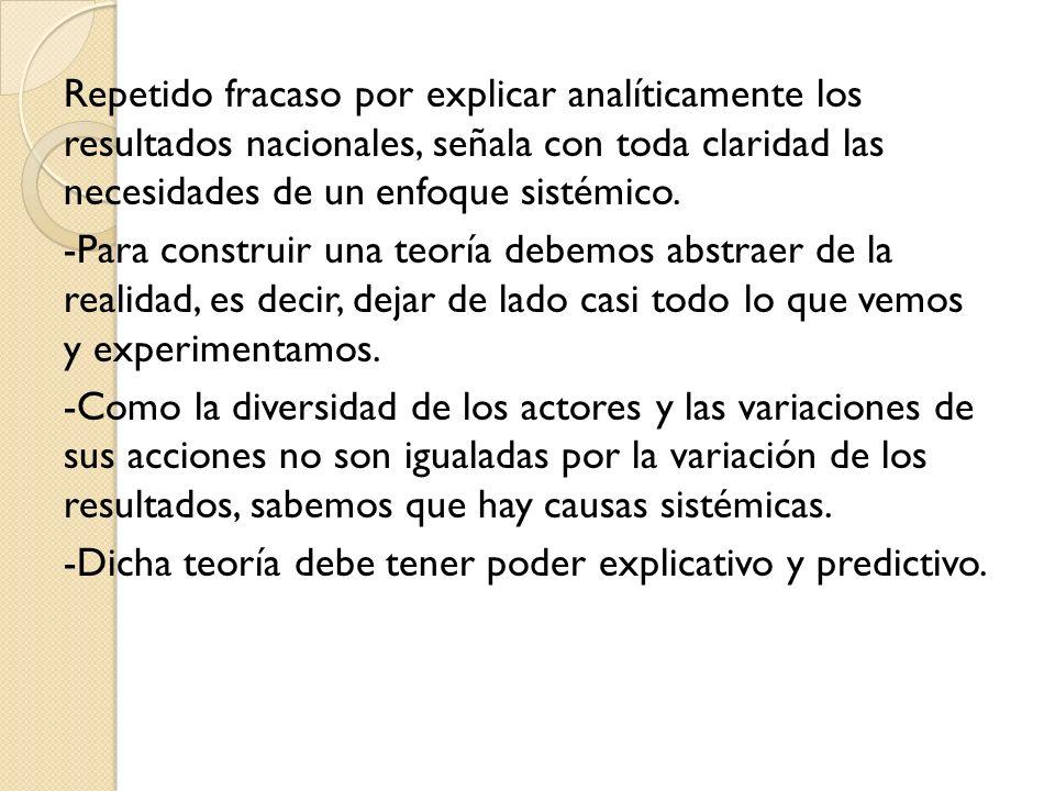 -Una teoría de la P.I.