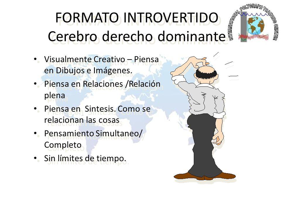 DOMINANTE LOGICO La Personalidad Inactiva Pensamiento Logico Objetivo.