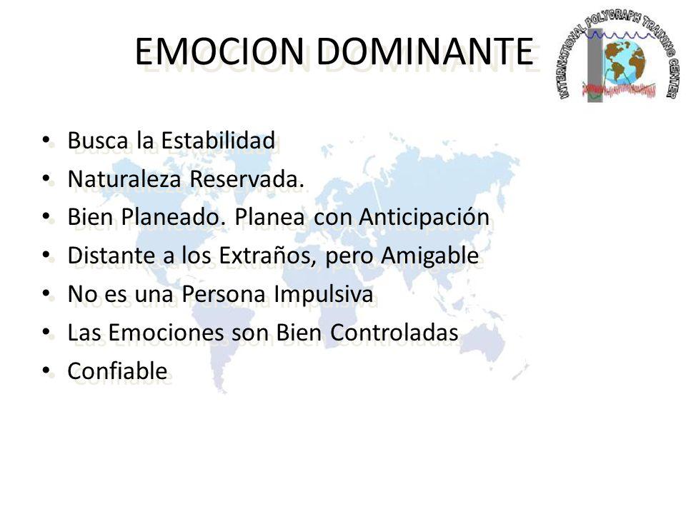DOMINANTE LOGICO ESTRATEGIA DE INTERROGATORIO Utilice la Lógica Objetiva.