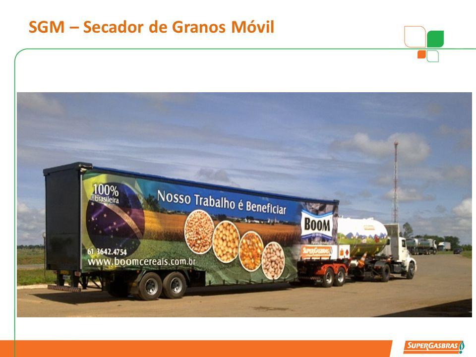 Secador de Granos Móvil GENERADOR SILO SECADOR ENFRIADOR