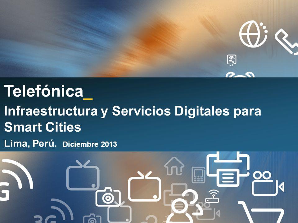 Las TELCOS como proveedores del entorno de desarrollo de Ciudades Inteligentes y Sostenibles Abel Maguiña R. Safety Services Manager Telefonica del Pe