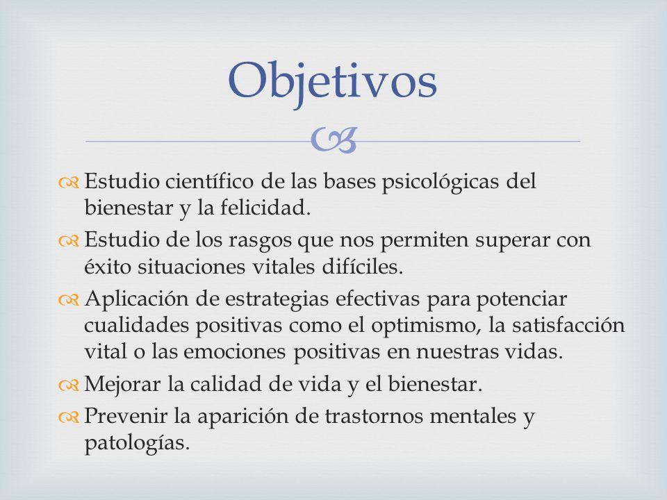 http://www.sepsicologiapositiva.es/psipositiva.htm www.authentichappiness.org http://psicologia-positiva.com/ ENLACES