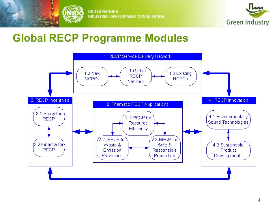 Global RECP Programme Modules 4