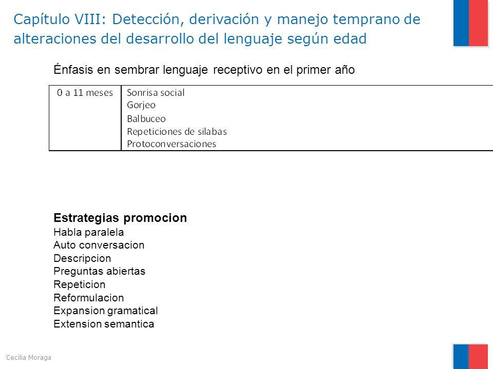 Estrategias promocion Habla paralela Auto conversacion Descripcion Preguntas abiertas Repeticion Reformulacion Expansion gramatical Extension semantic