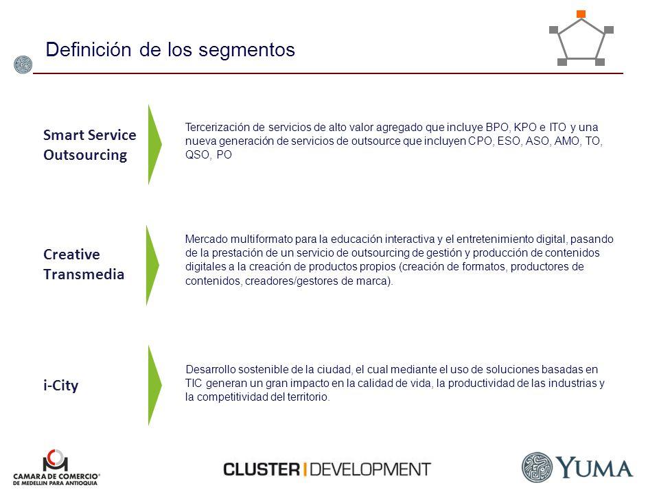 Smart Service Outsourcing Creative Transmedia i-City Mercado multiformato para la educación interactiva y el entretenimiento digital, pasando de la pr