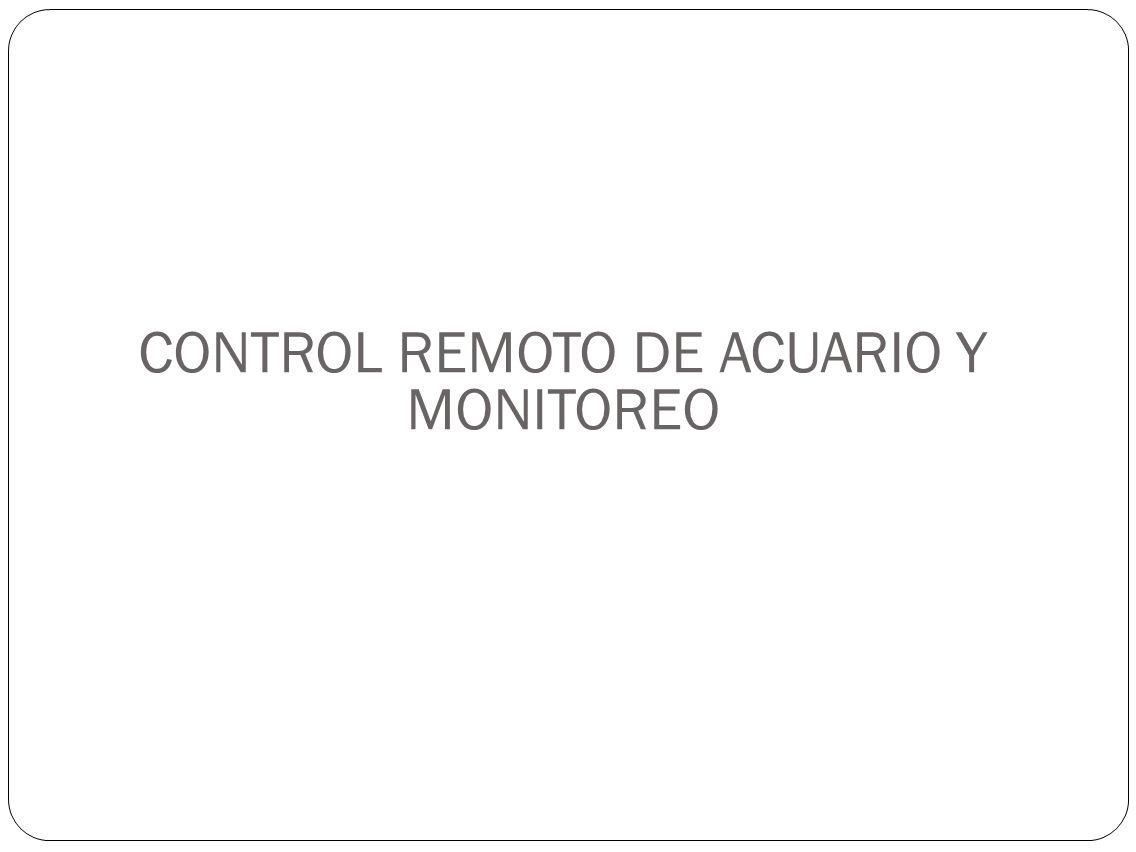 CONTROL REMOTO DE ACUARIO Y MONITOREO