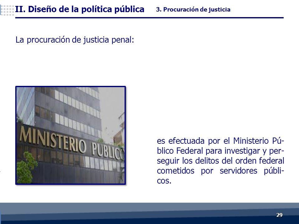 2929 es efectuada por el Ministerio Pú- blico Federal para investigar y per- seguir los delitos del orden federal cometidos por servidores públi- cos.