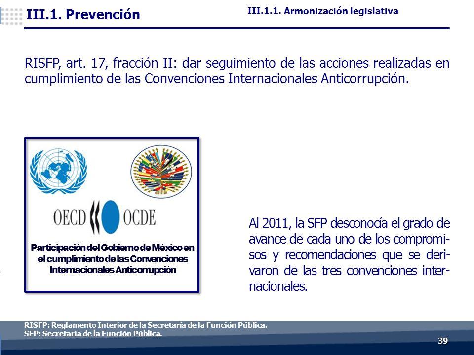 3939 RISFP: Reglamento Interior de la Secretaría de la Función Pública.