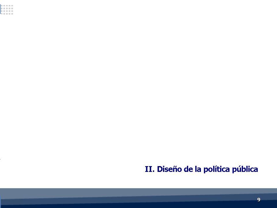 99 II. Diseño de la política pública