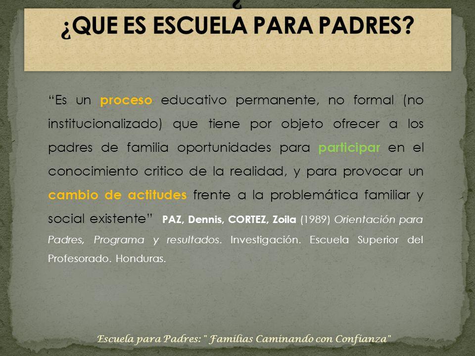 Escuela para Padres: