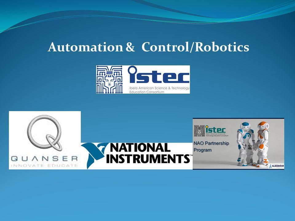 Automation & Control/Robotics