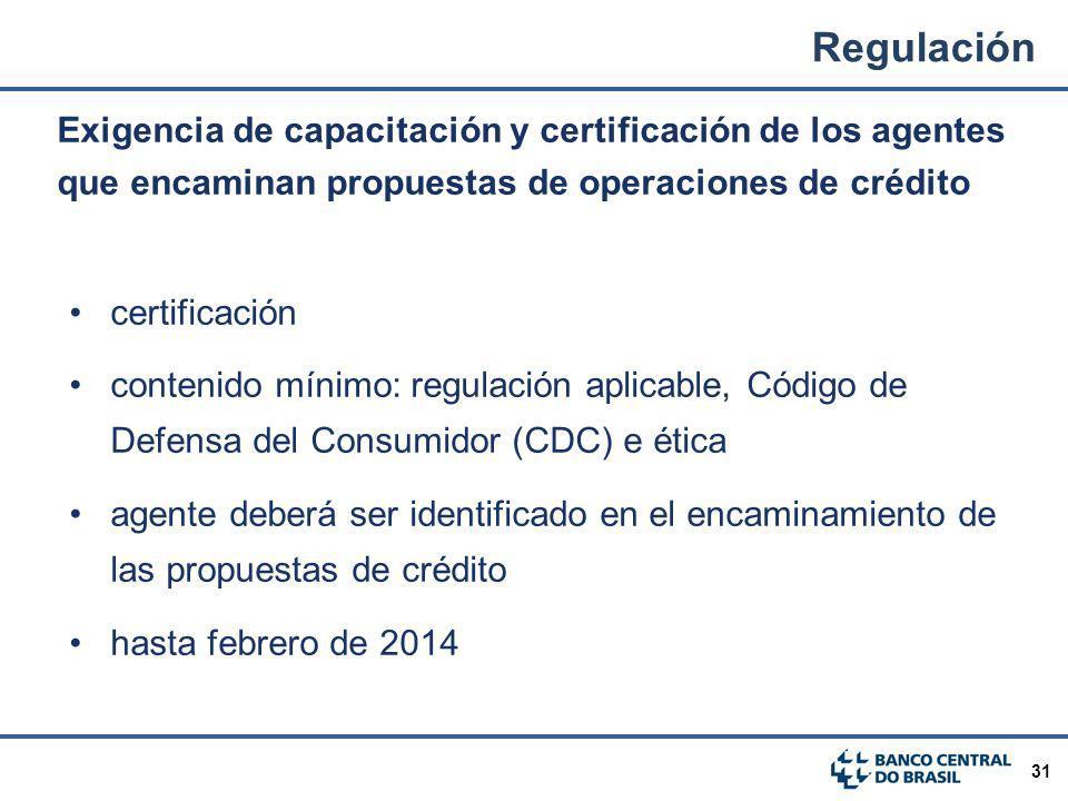 31 Exigencia de capacitación y certificación de los agentes que encaminan propuestas de operaciones de crédito certificación contenido mínimo: regulac