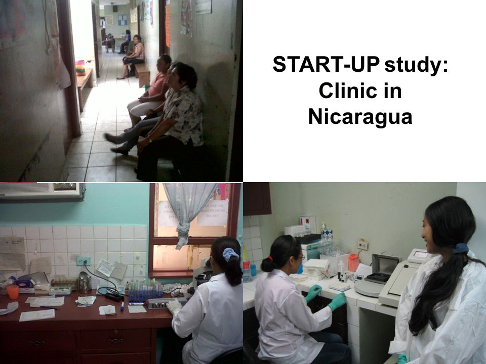 START-UP study: Clinic in Nicaragua