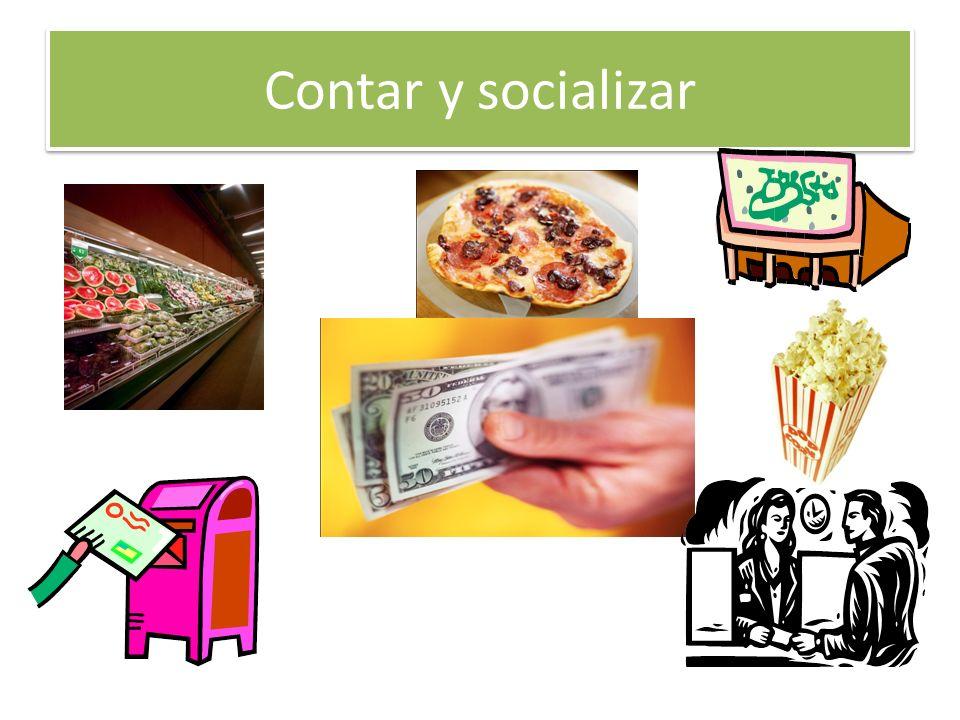 Contar y socializar