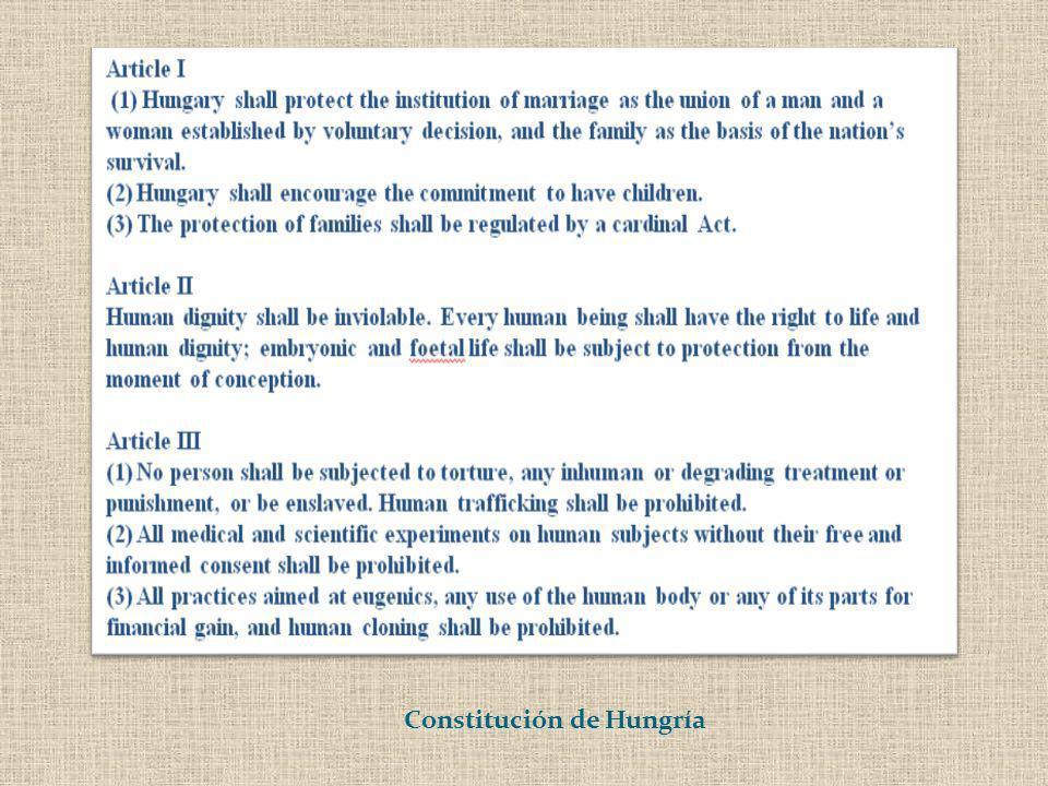 Constitución de Hungría