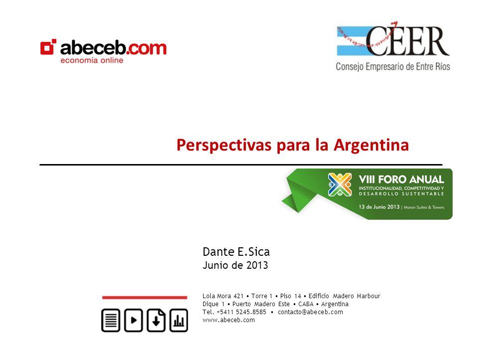 Crédito doméstico Como % del PBI Desafíos futuros Es cierto que en general América Latina muestra un bajo nivel de crédito al sector privado, pero dentro de la región la posición de Argentina no es favorable