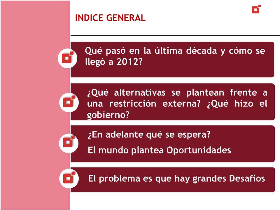 Desafíos futuros Por su parte, el bajo desarrollo del mercado de capitales argentino tampoco ayuda.