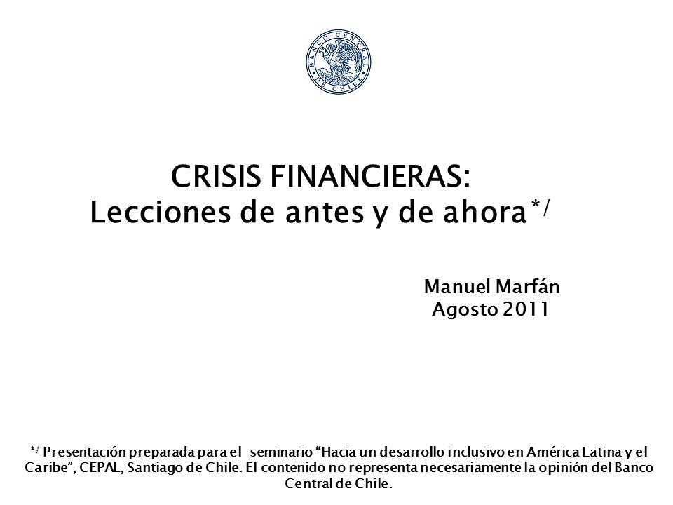 2 Contenido 1.Introducción 2.Exceso de gasto privado 3.Exceso de gasto público 4.Regulación financiera voluntarista 5.Buenas prácticas internacionales.