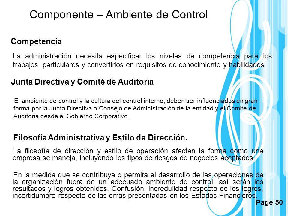 Page 50 La administración necesita especificar los niveles de competencia para los trabajos particulares y convertirlos en requisitos de conocimiento