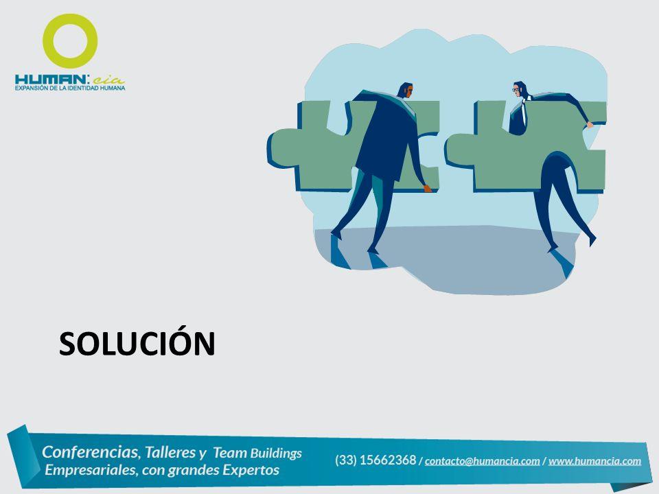 RESPUESTA CONCIENTIZACIÓN Y EDUCACIÓN (causas y posibles soluciones) DIAGNÓSTICO INTEGRAL (uso de tecnología nueva) GENERACIÓN DE TRATAMIENTO INTEGRAL INDIVIDUALIZADO (Asesoría nutricional, plan de actividad física, seguimiento psicológico ) VINCULACIÓN AL DESARROLLO LABORAL Y SOCIAL (generar comunidades de apoyo, crear junto con la empresa campañas publicitarias y esquemas de incentivos)