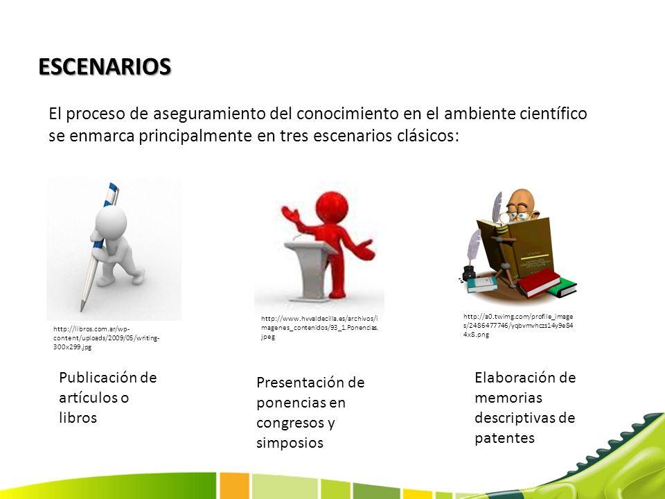 PUBLICACIÓN DE ARTICULOS Y LIBROS Aplicación a un entorno científico especializado Direccionamiento a públicos objetivos Baja cobertura de transferencia.