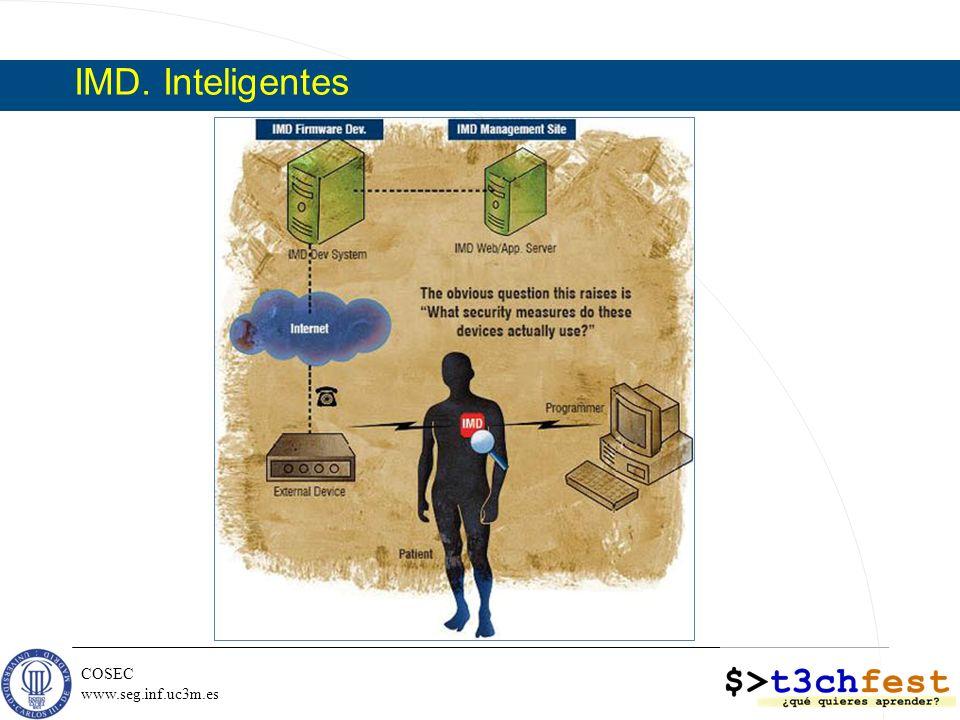 COSEC www.seg.inf.uc3m.es IMD. Inteligentes
