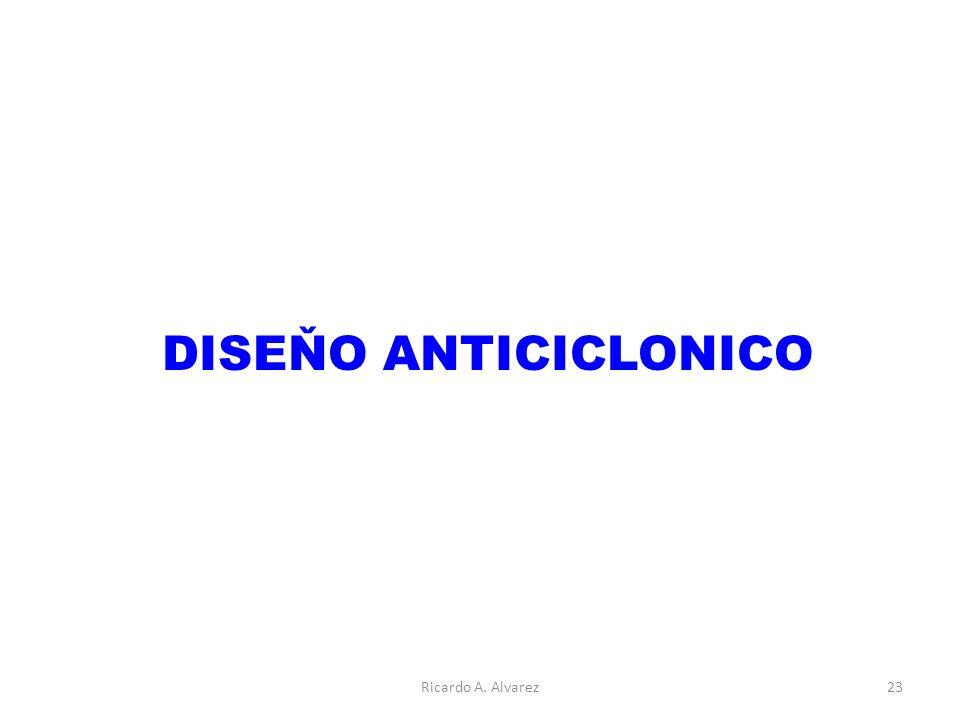 DISEŇO ANTICICLONICO Ricardo A. Alvarez23