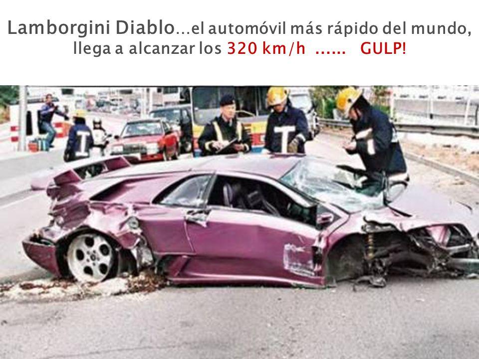 Lamborgini Diablo …el automóvil más rápido del mundo, llega a alcanzar los 320 km/h...... GULP!