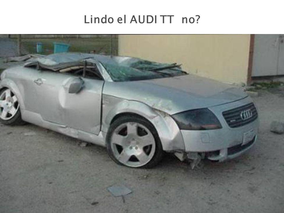 Lindo el AUDI TT no?