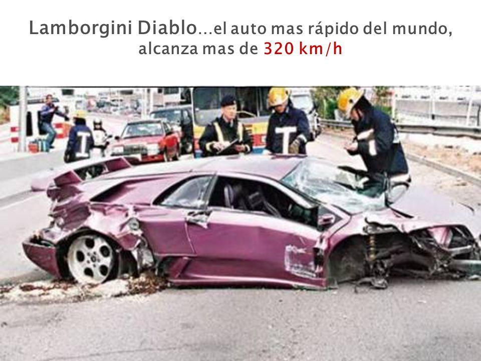 Lamborgini Diablo …el auto mas rápido del mundo, alcanza mas de 320 km/h