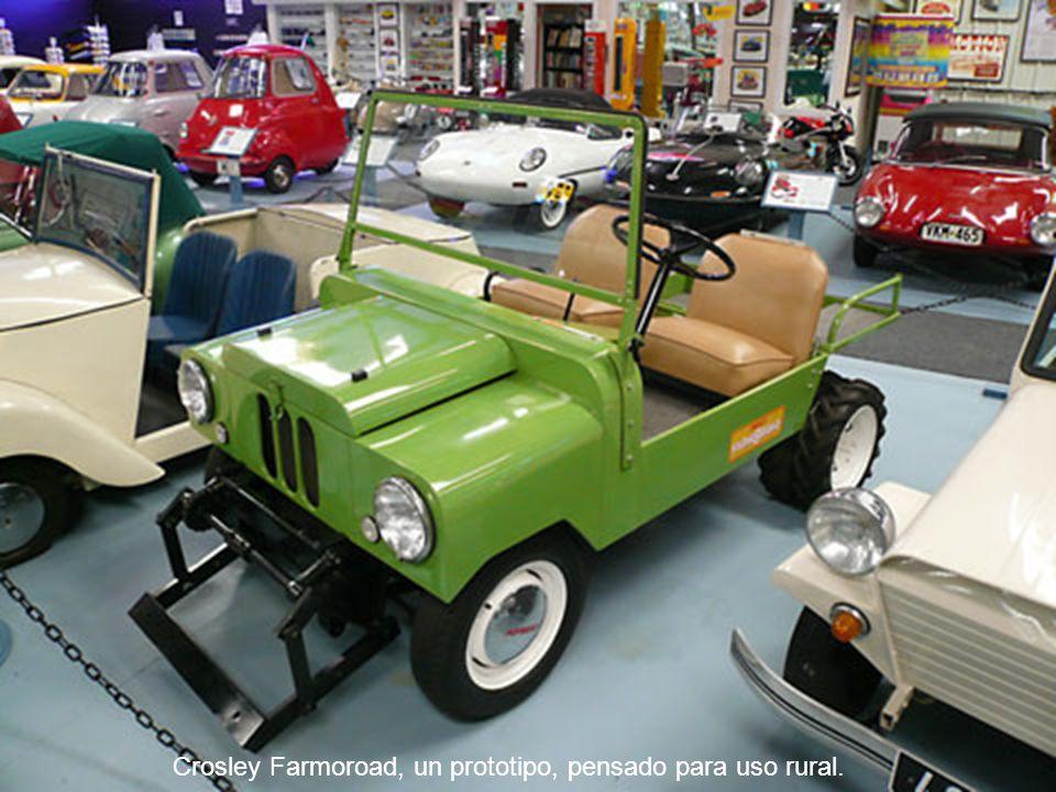 Crosley Farmoroad, un prototipo, pensado para uso rural.
