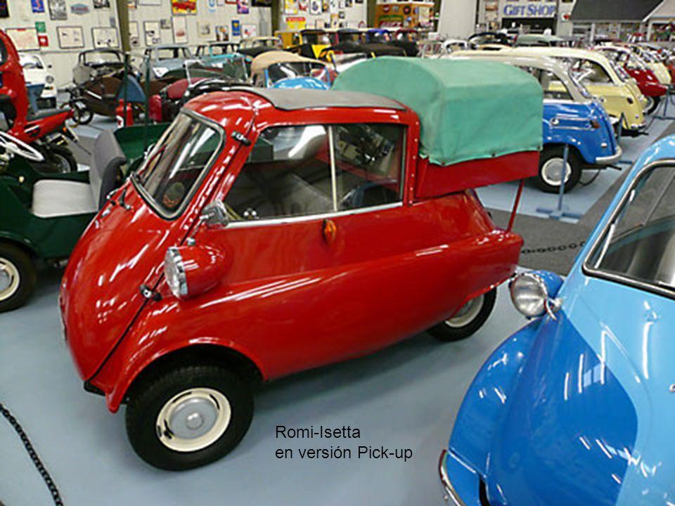 Romi-Isetta en versión Pick-up