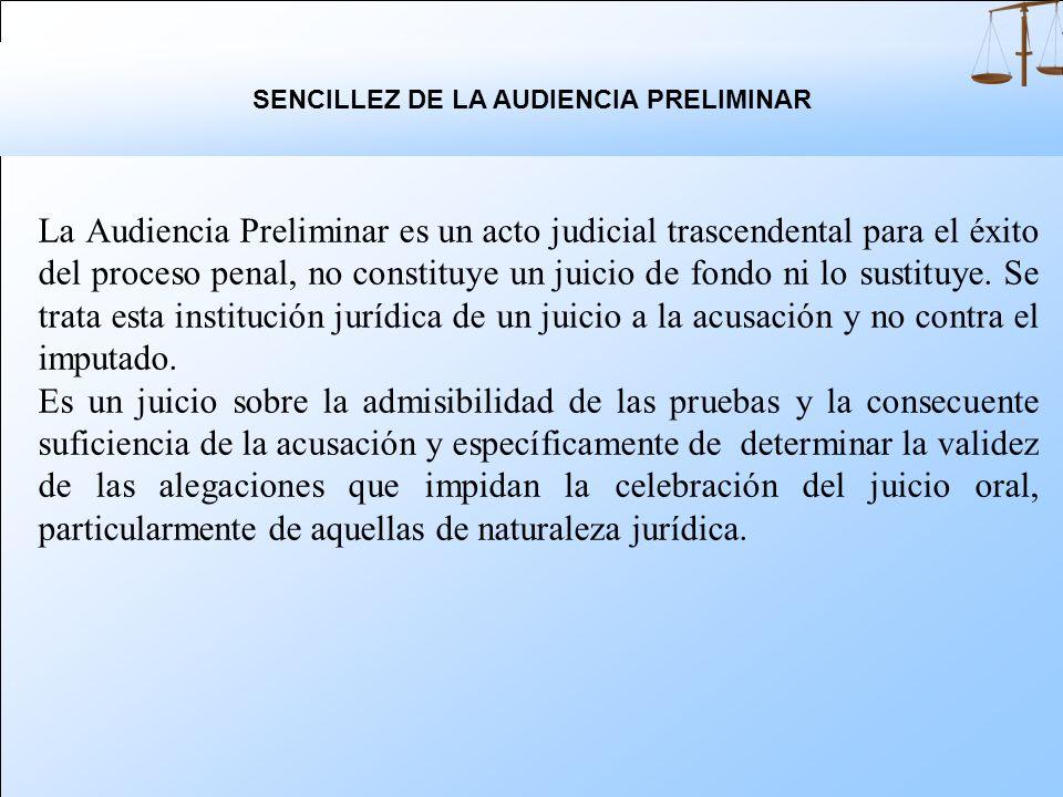 A los testigos: Un trato digno evitando que se disponga de su tiempo innecesariamente. A la administración pública: Como medida de economía procesal q