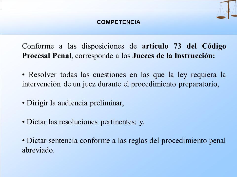 La fase intermedia, de naturaleza jurisdiccional, constituida por los actos conclusivos y la audiencia preliminar cuyo propósito es pasar por el filtr