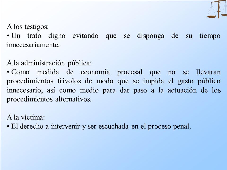 El juez de la instrucción debe garantizar: Al imputado: La oportunidad de derrotar la acusación demostrando la inexistencia de responsabilidad por el