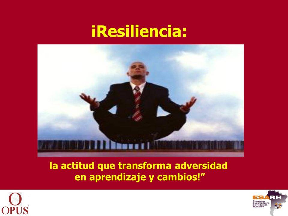 la actitud que transforma adversidad en aprendizaje y cambios! ¡Resiliencia:
