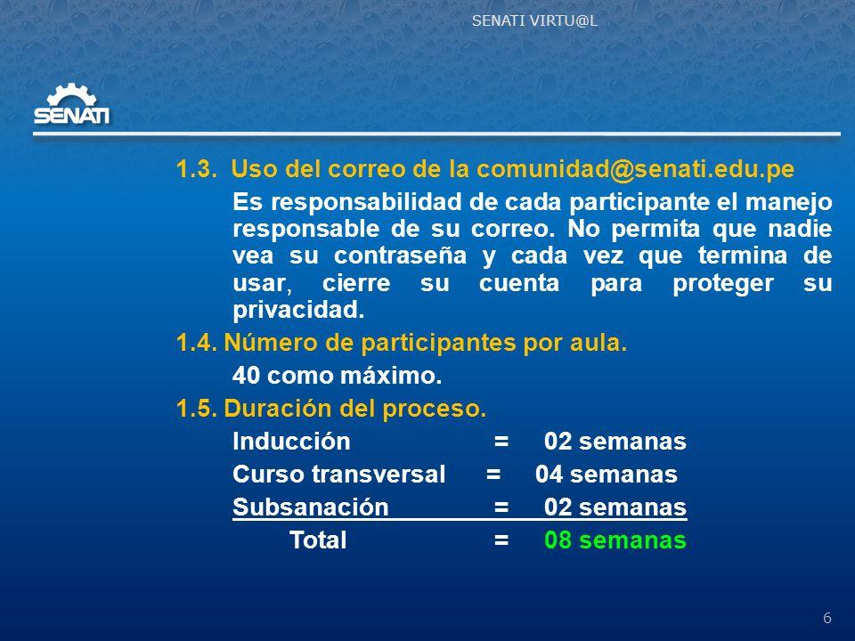 Fin de la Presentación 37 SENATI VIRTU@L