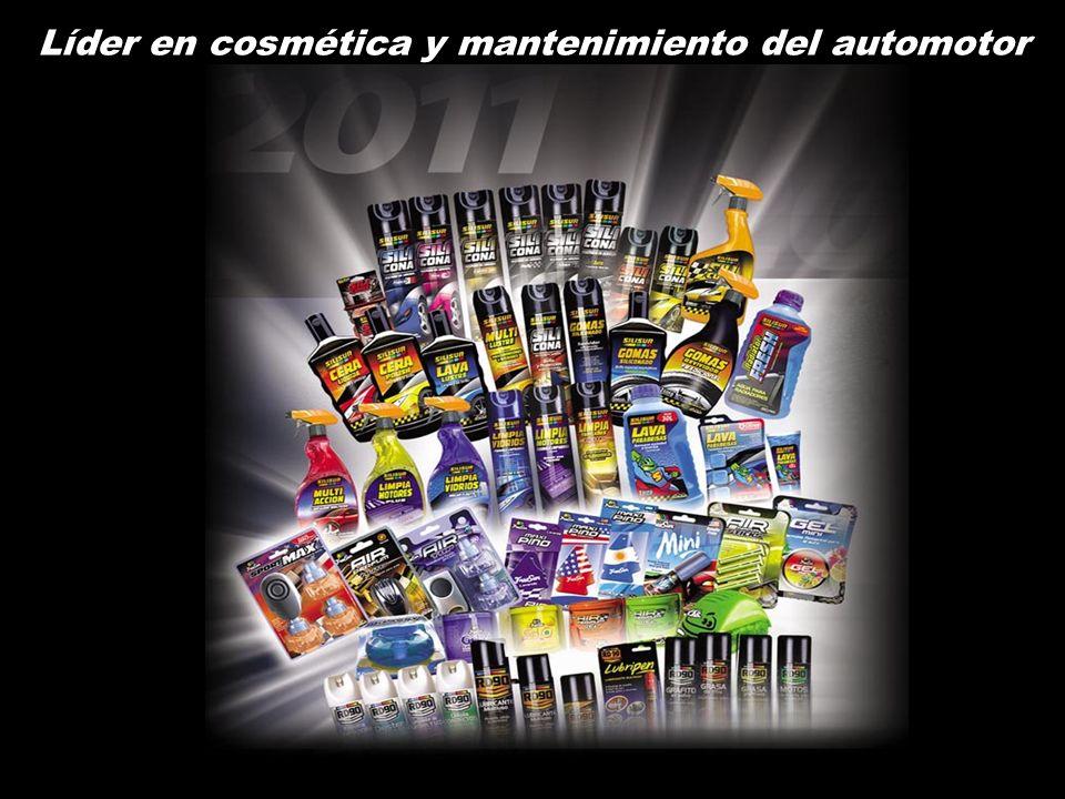 Líder en cosmética y mantenimiento del automotor
