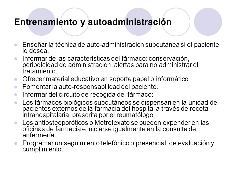 Cenfermeria reumatologica Objetivo:Evidenciar ante los gestores de salud y reumatologos,la actividad que se realiza en una c de enfermeria,su rentabilidad y la necesidad de incorporar a la enfermera a las unidades de reuma.