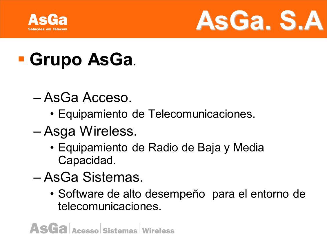 AsGa Acceso Soluciones em Telecomunicaciones.